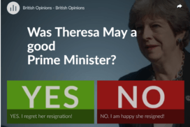 Was Theresa May a good Prime Minister? 9