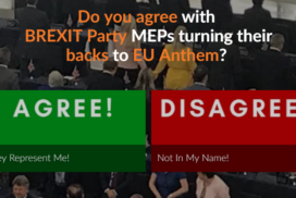 Do You Agree With BREXIT Party MEPs Turning Their Backs to EU Anthem 6