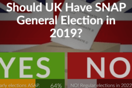 Should UK Have SNAP General Elections in 2019? 10