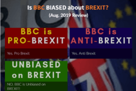 Is BBC biased about BREXIT (August 2019)? 7