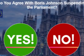 Do You Agree With Boris Johnson Suspending the Parliament? 4