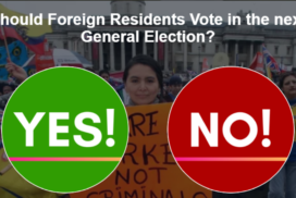 EU nationals to vote in General Election?