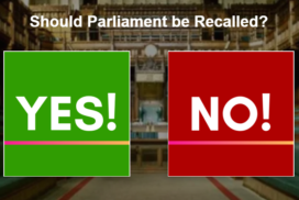 Should UK Parliament be Recalled? 1